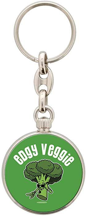 Vegetarian Keyring