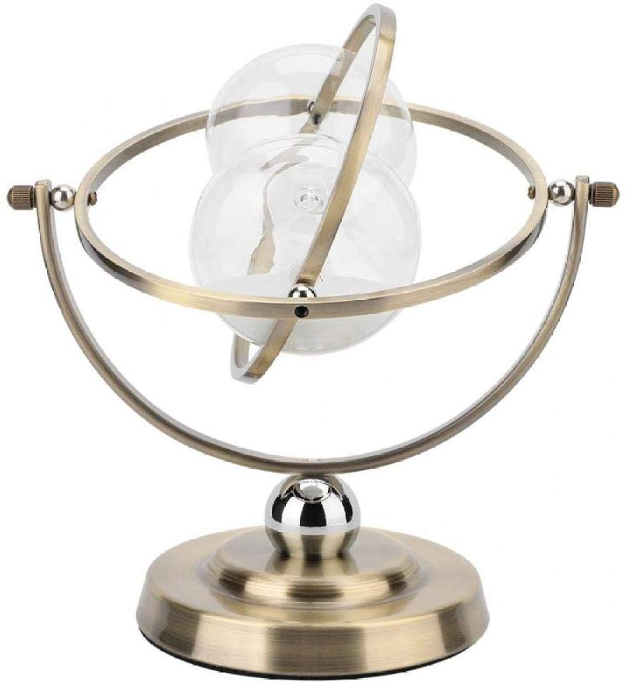 Hour Glass Wood 15 Minutes Rotating Sand Hourglass Metal