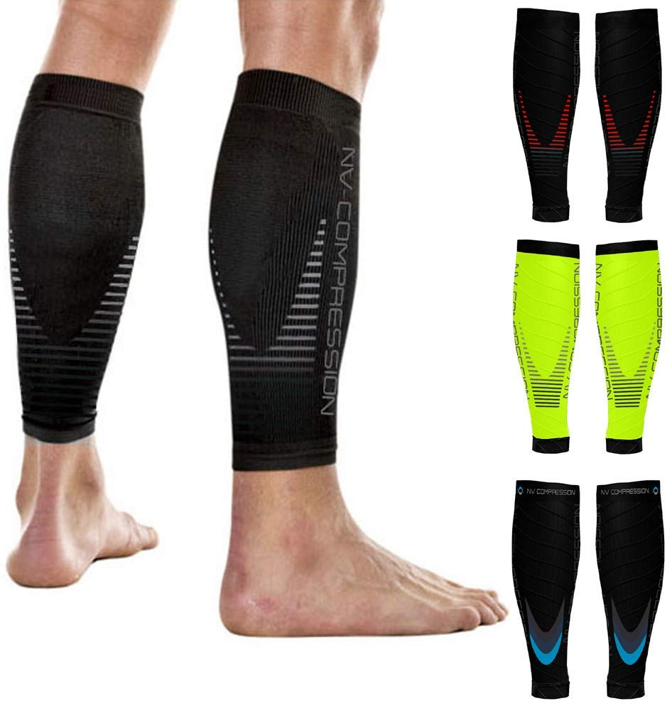 Compression Essential Race and Recover Calf Guards/Sleeves