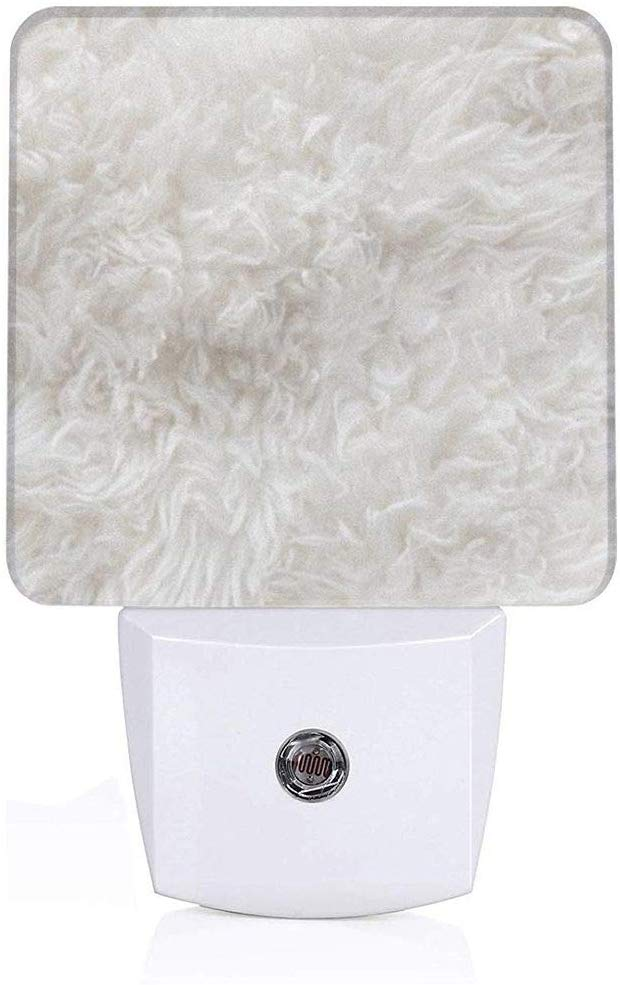 Led Night Light White Wool