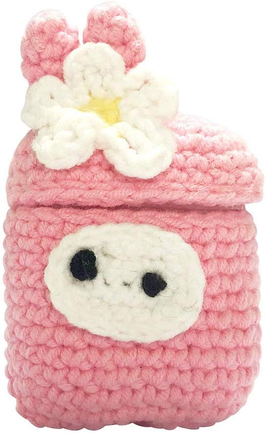 Lukame Knitted Wool Colored Silicone Case for Pocket