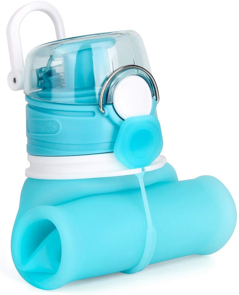 Collapsible Water Bottle with Leak Proof Valve