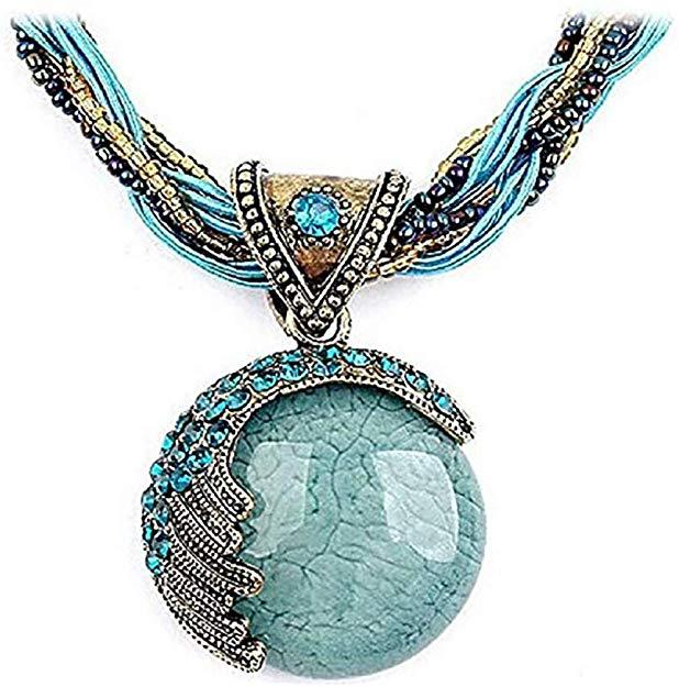 Jewelry Bohemia Pendant Necklace Chain