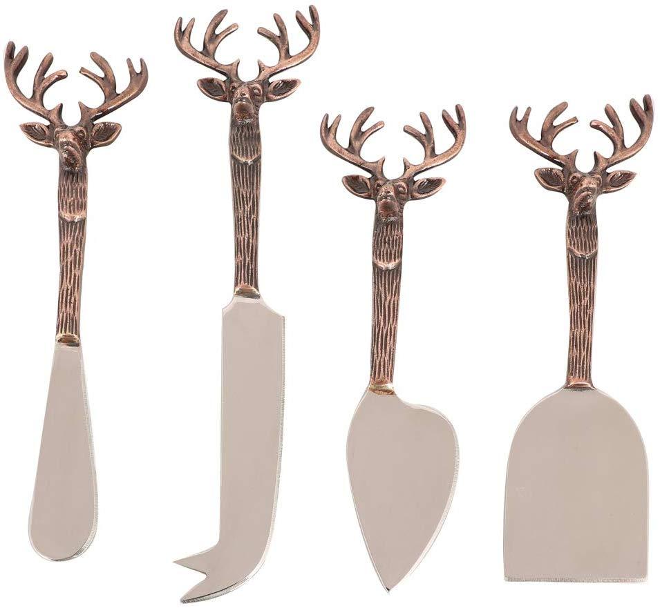 4 Piece Luxury Cheese Knife Gift Set