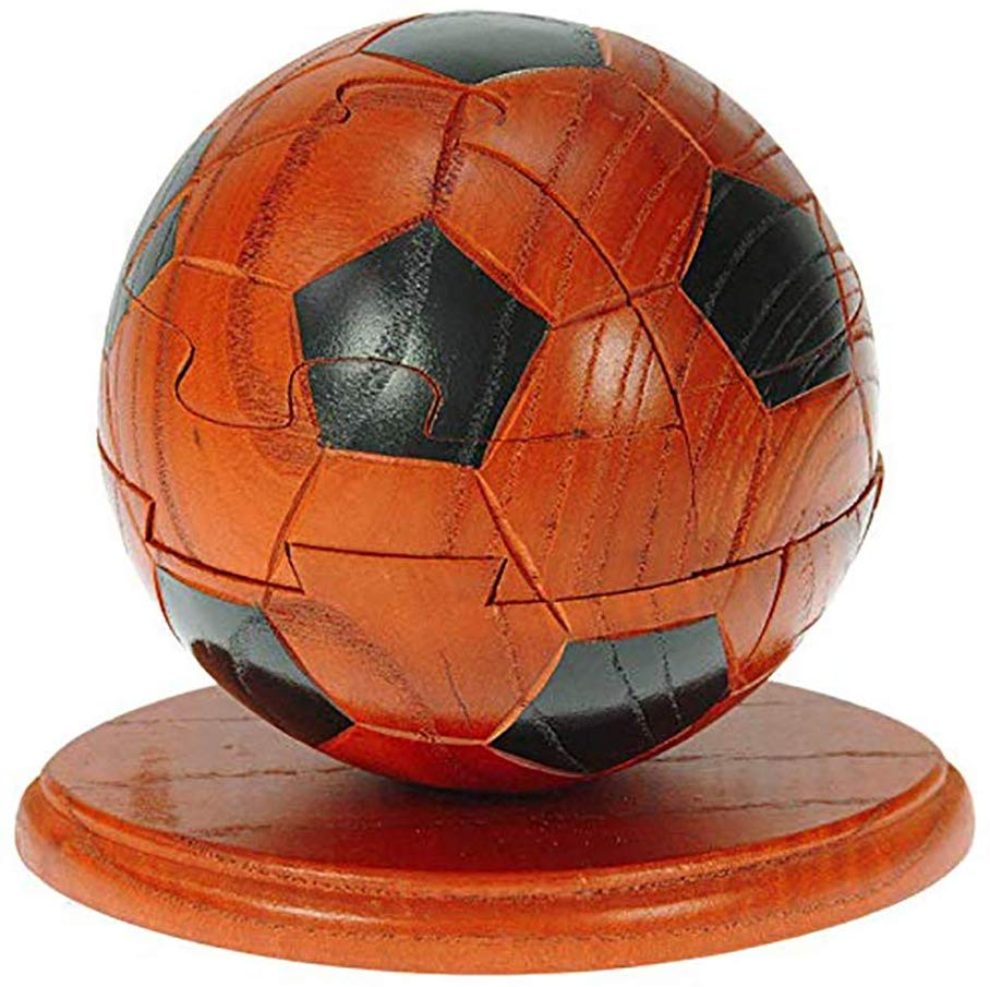 HomeZone® Handcrafted Football Themed Wooden 3D Jigsaw Puzzles