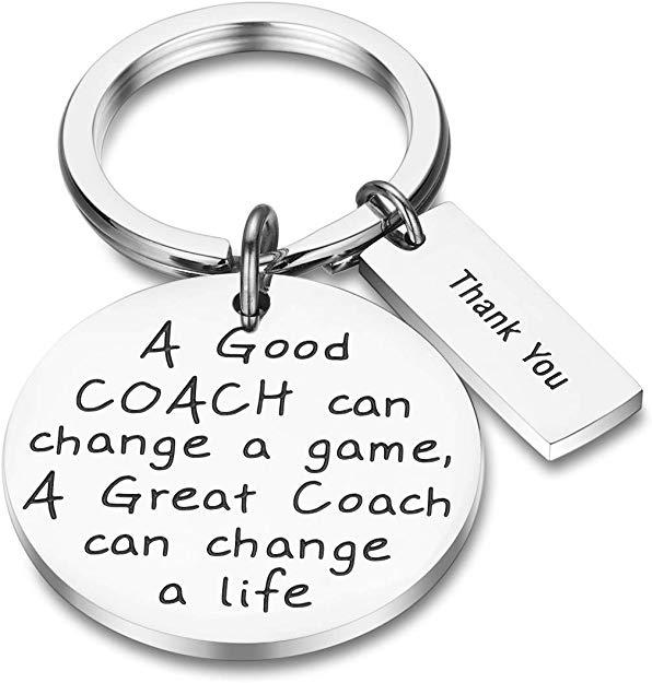 Coach Keychain Coach Gifts A Good Coach Can Change A Game