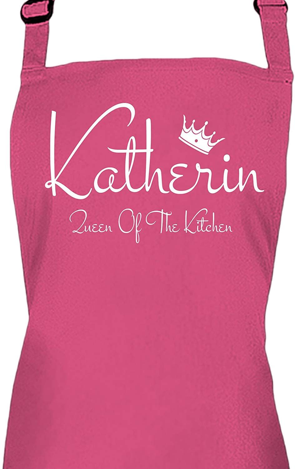 Ladies Personalised Queen Of The Kitchen Apron