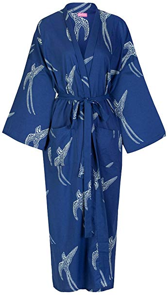 Top Seller! Ladies Cotton Dressing Gown