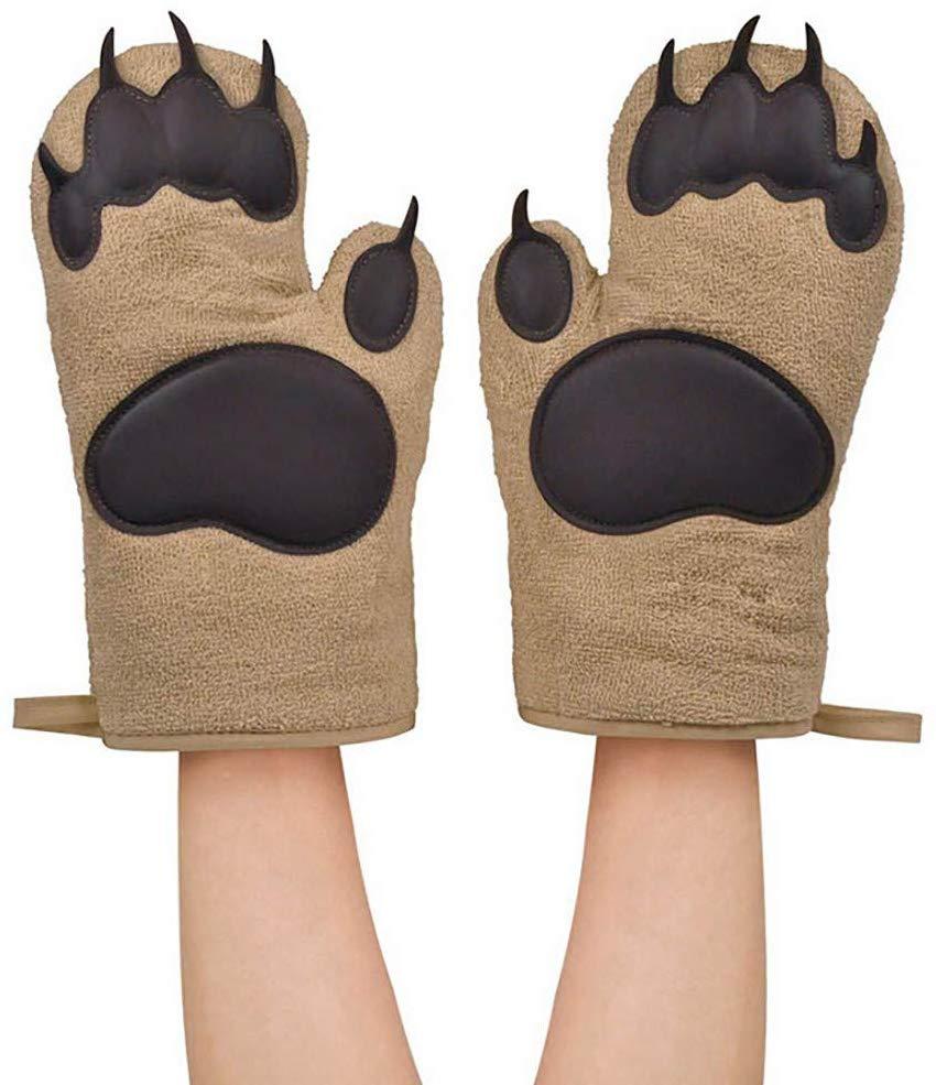 Bluelucon Bear Oven Gloves