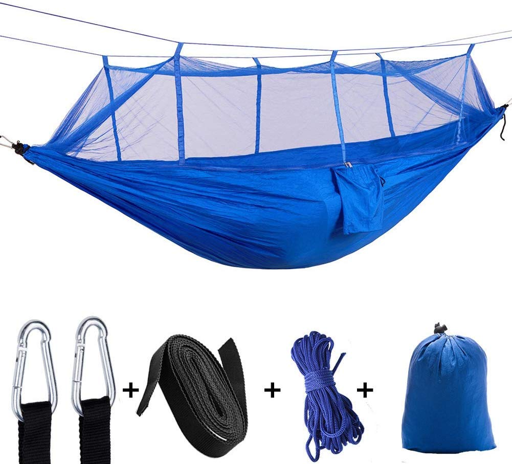Leezo Ultralight Parachute Hammock With Mosquito Net