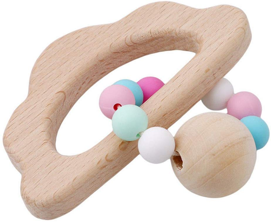 Baby Bracelets Wooden Teether Baby