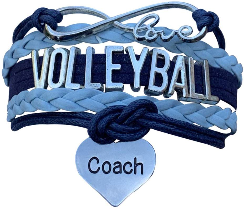 Volleyball Coach Gift- Volleyball Coach Charm Bracelet