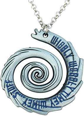 Orion Creations Wibbly Wobbly Timey Wimey Doctor Necklace