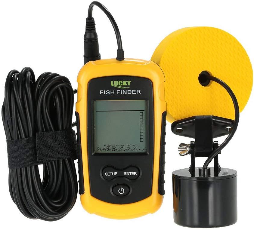 Portable Fish Detection Sonar Sensor Fishing Finder