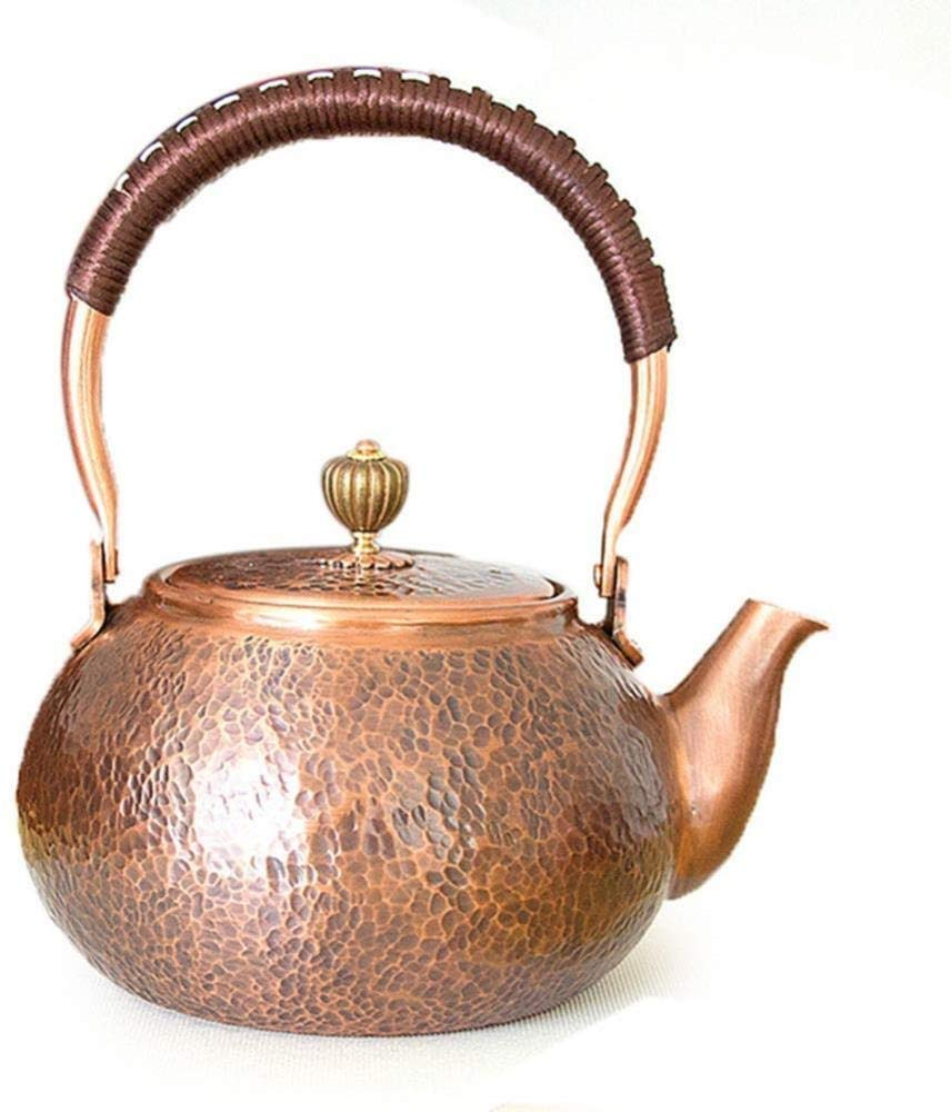 Modern Teapot with Removable Infuser and Anti-Hot Handle