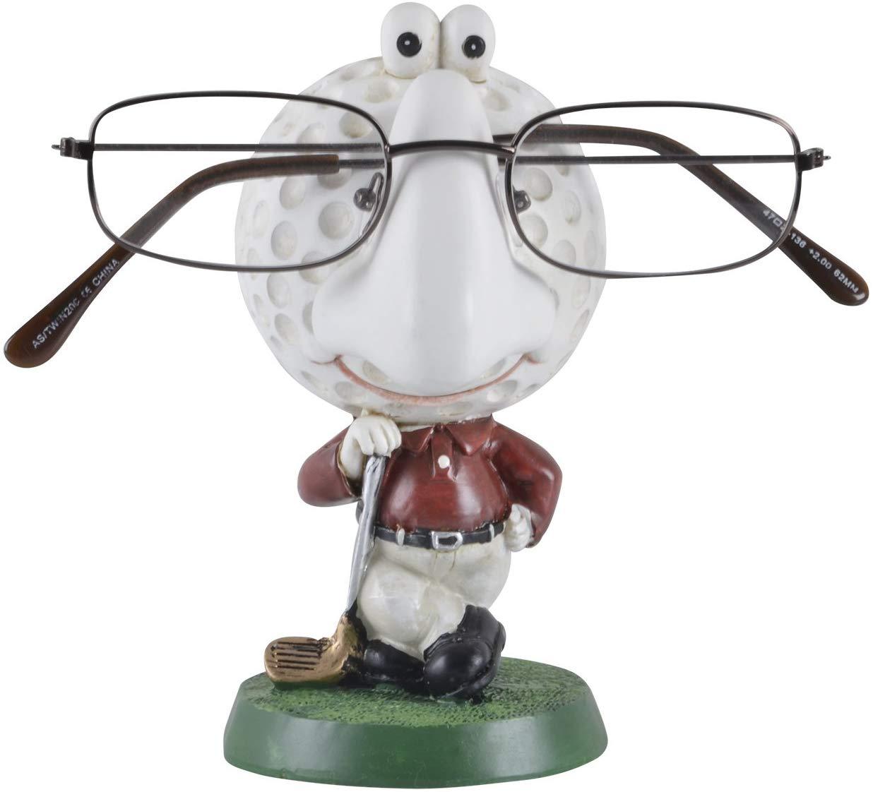 Mr Crimbo Novelty Reading Glasses Holder Figure, Golf