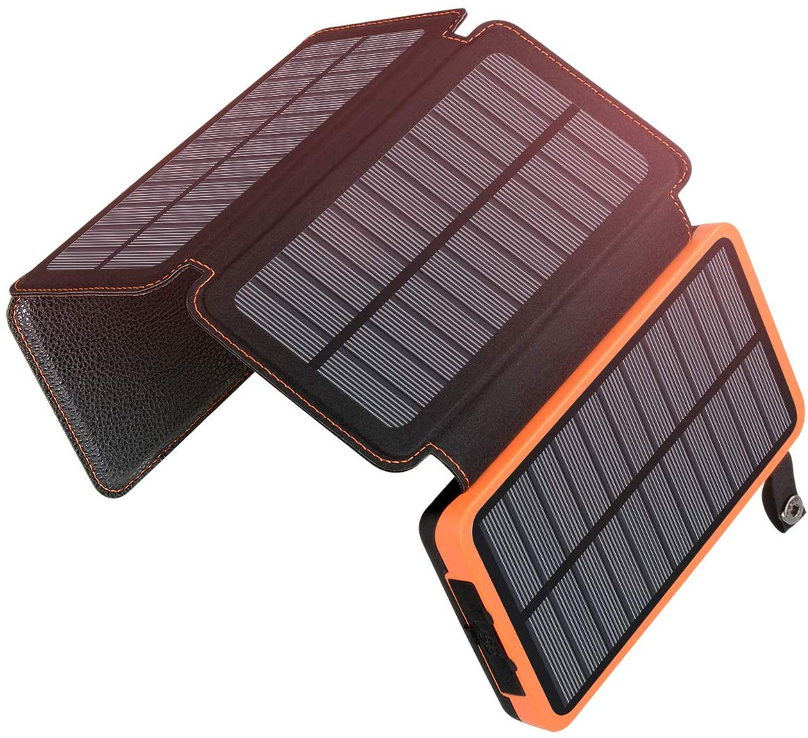 Solar Charger 25000mAh Portable Solar Power Bank