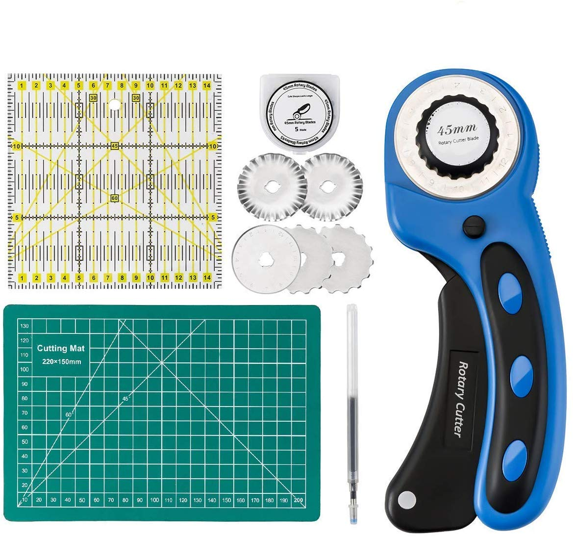 Cozywind 45mm Rotary Cutter with Blades