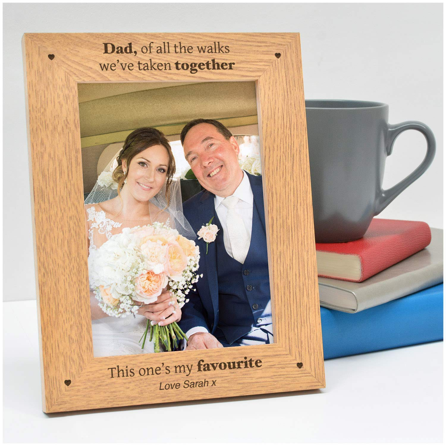 Personalised Father of the Bride Photo Frame Gifts
