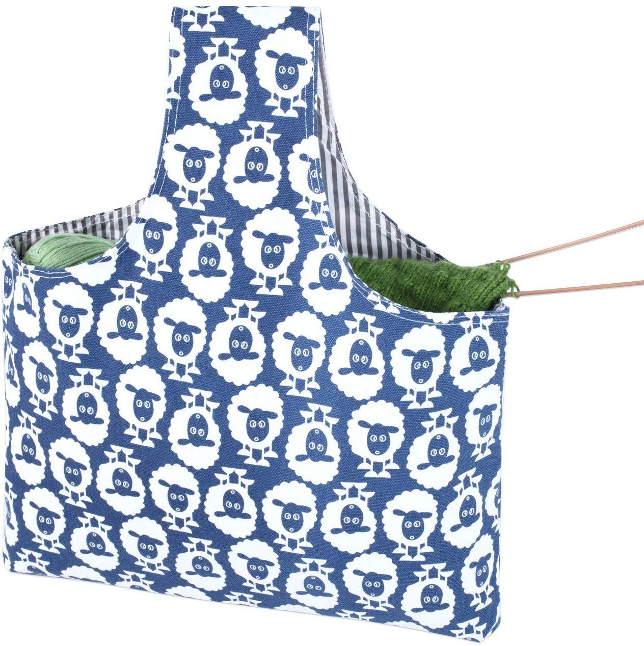 Teamoy Knitting Tote Bag