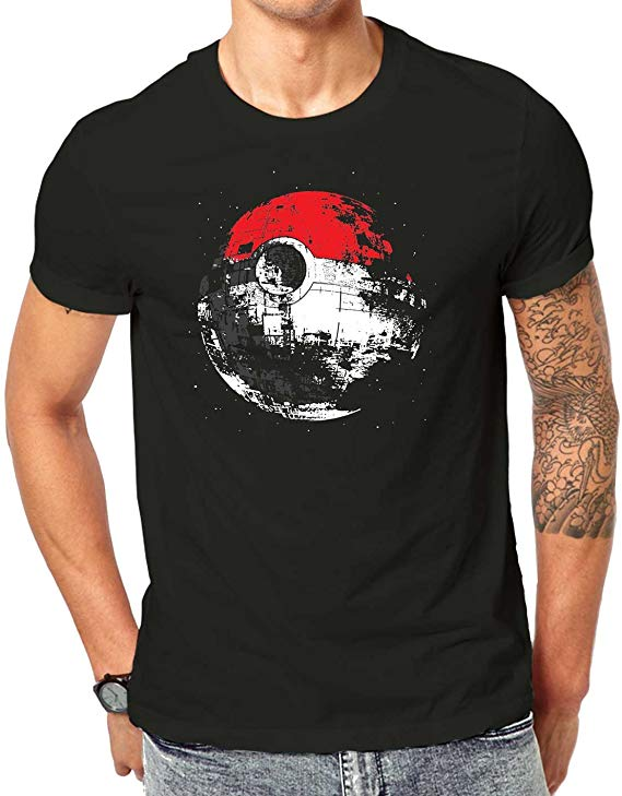 Star Wars Death Star Pokemon Mashup T Shirt