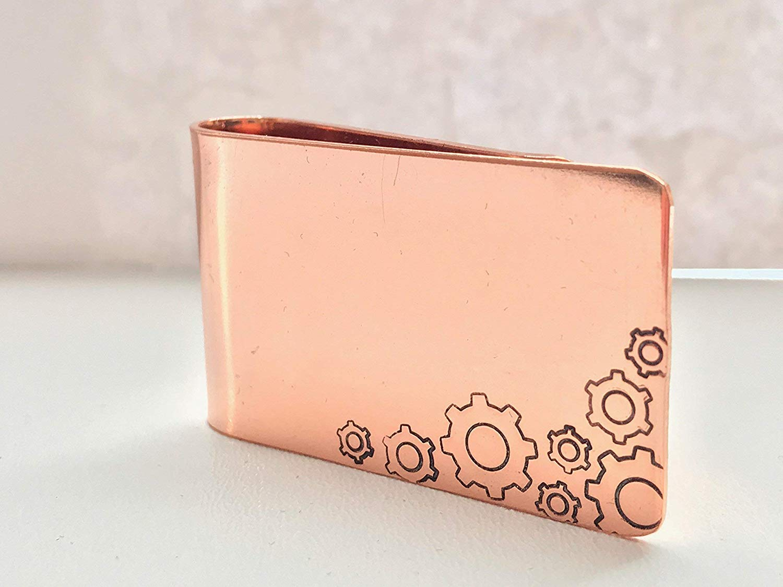 Hand Made Copper Money Clip