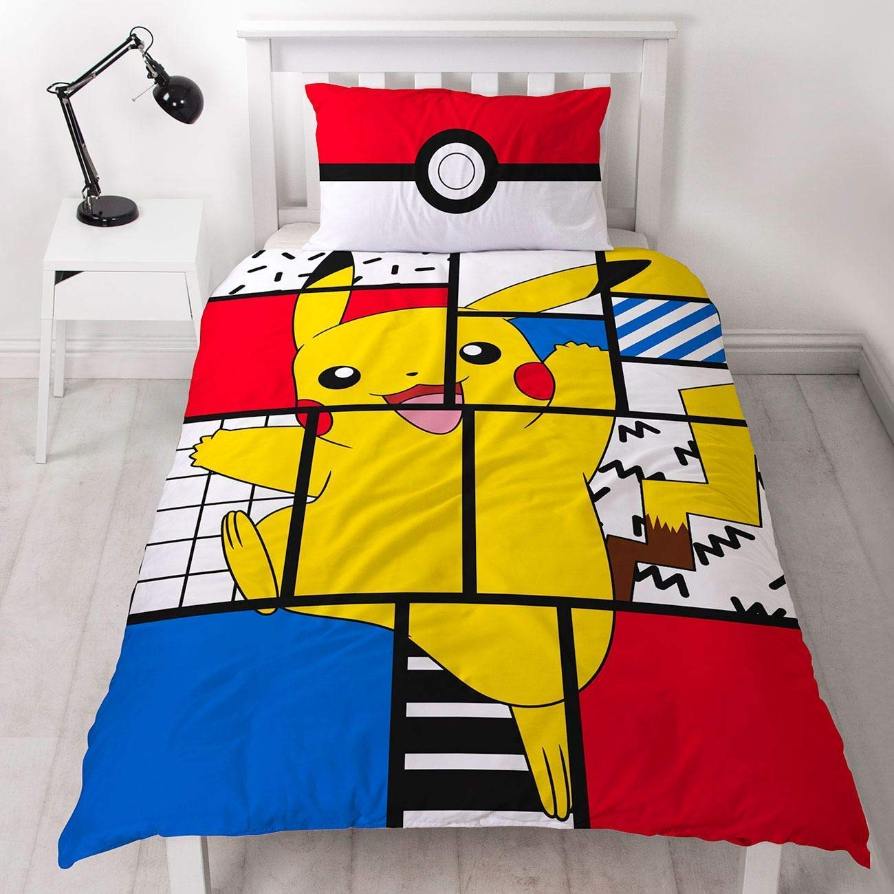 Pokemon Pikachu Single Duvet Cover