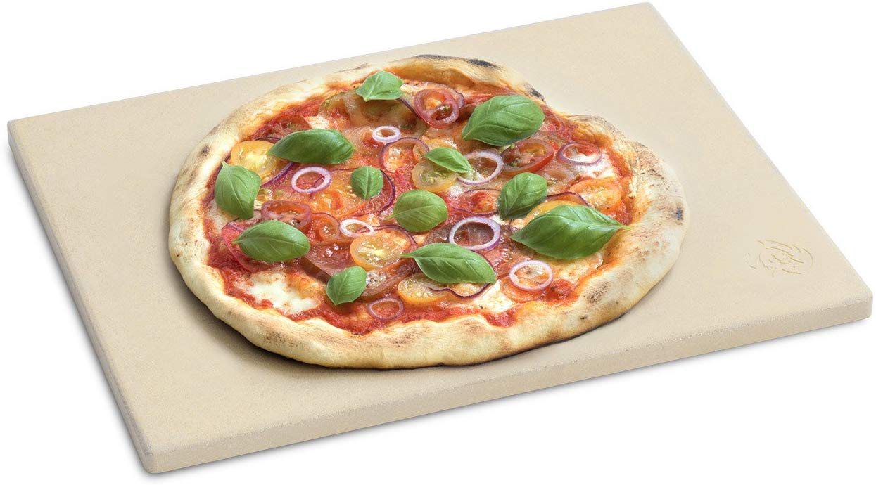 BURNHARD Pizza Stone for Oven and Grill