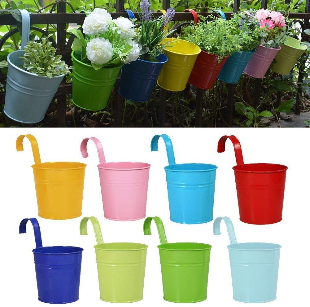 Garden Pots Hanging Buckets Hanging Planter