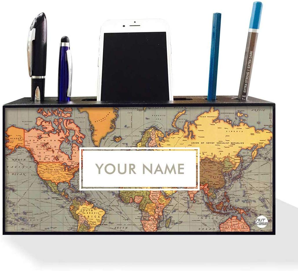 Nutcase Personalized Pen Mobile Stand Holder