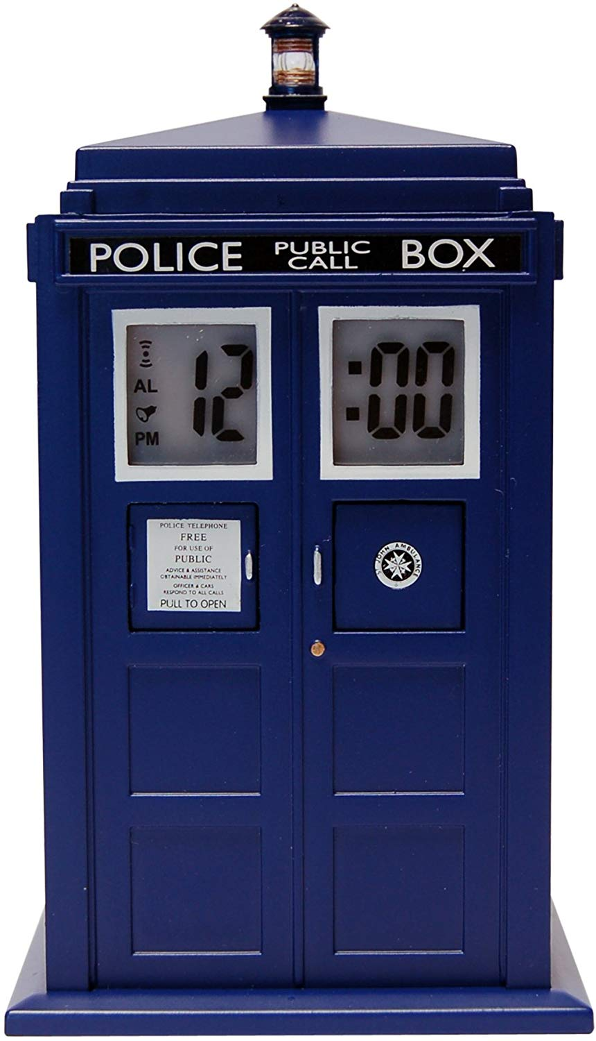 Doctor Who Tardis Digital Projection Alarm Clock