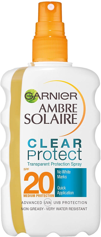 Ambre Solaire Clear Protect Transparent Sun Cream