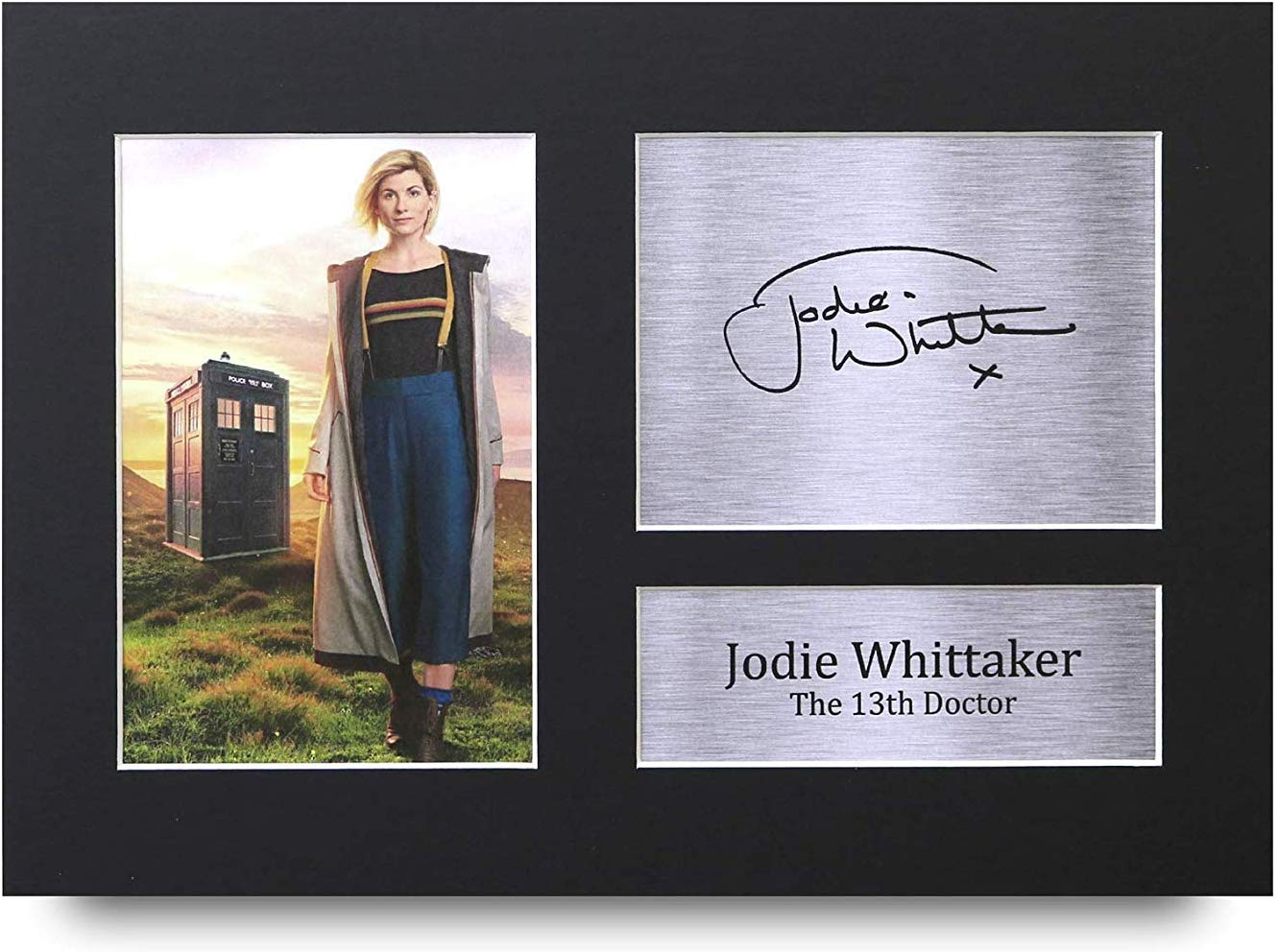 Trading Jodie Whittaker Signed A4 Printed Autograph Doctor Dr Who Photo