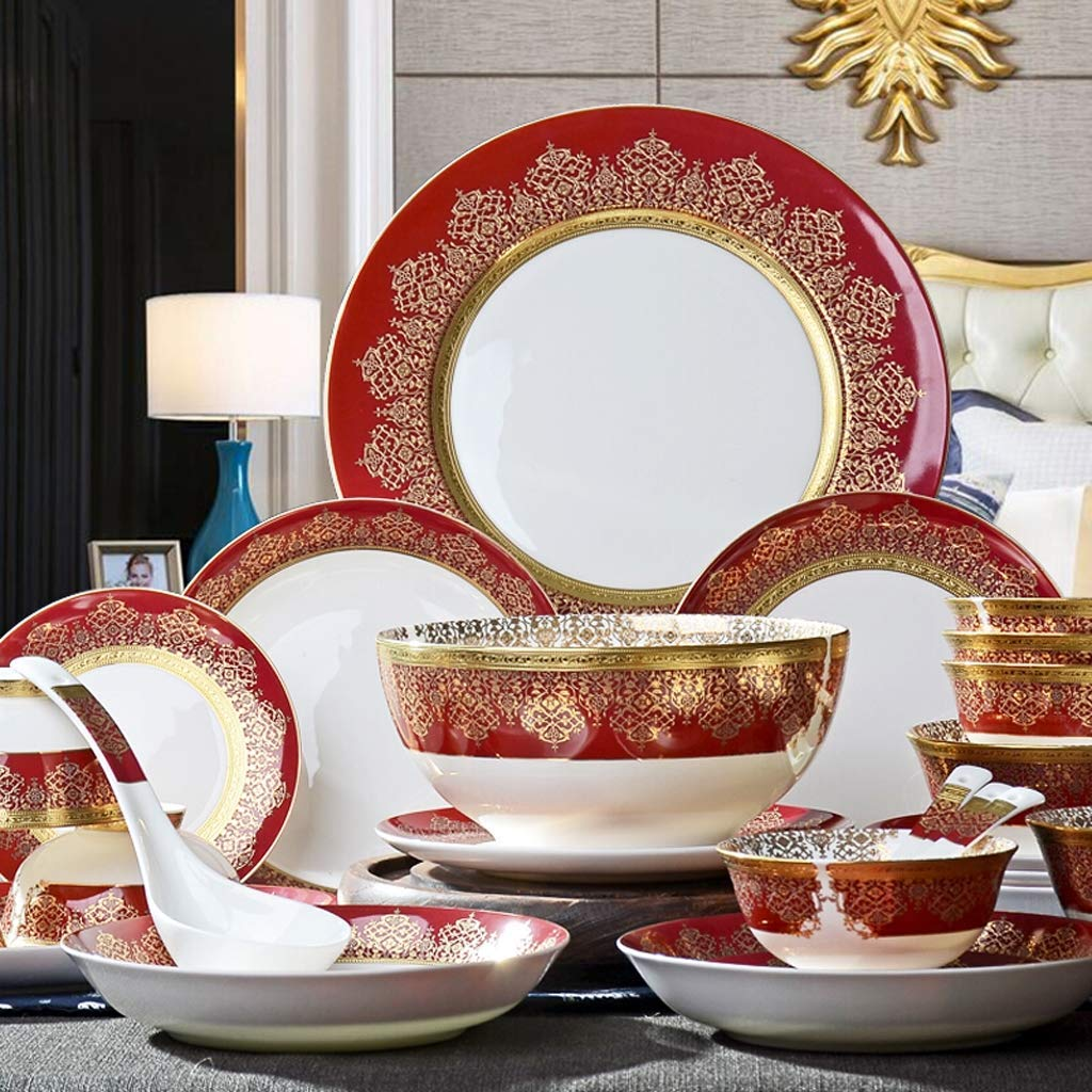 Set Ceramics Dinnerware Set