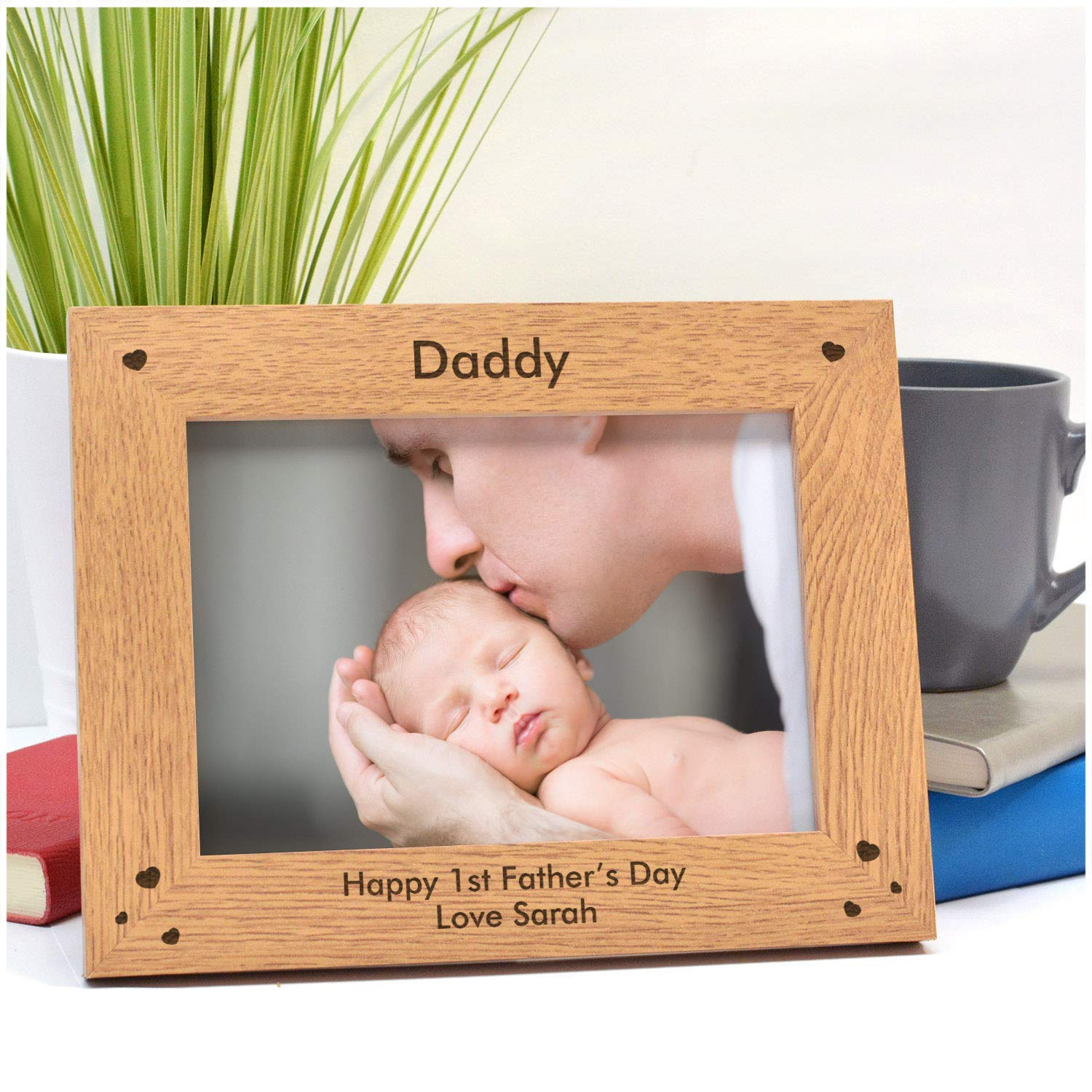 1st Fathers Day Photo Frame