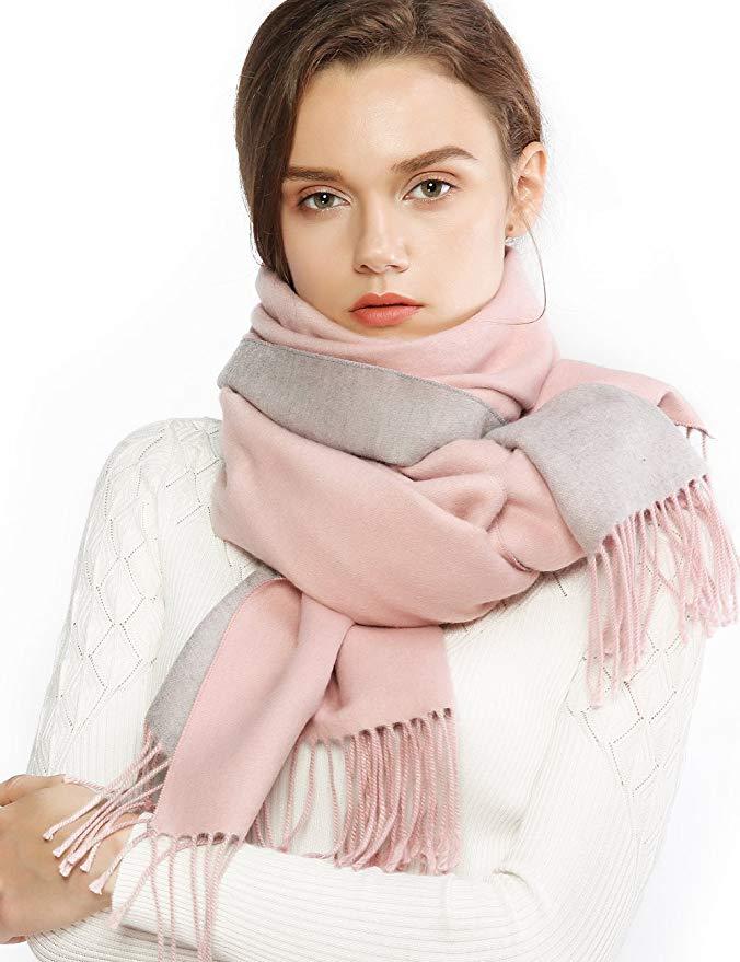 Winter Cashmere Wool Scarf