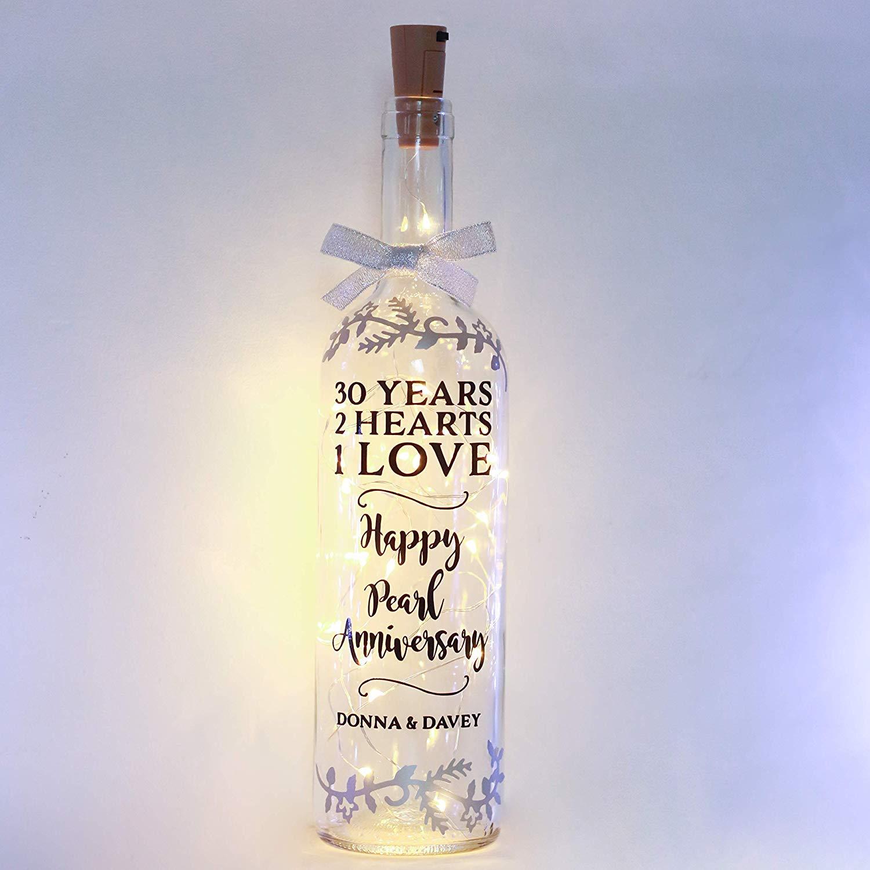 Gift for Parents, Grandparents, Bottle Light