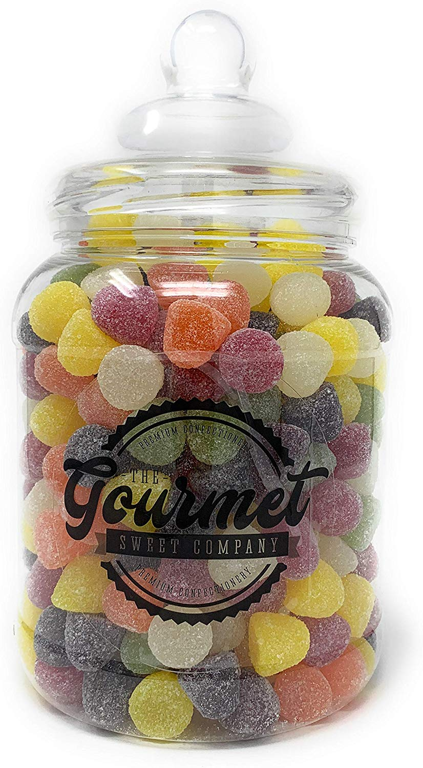 American Hard Gums 1.8kg Retro Sweets Large Victorian Gift Jar