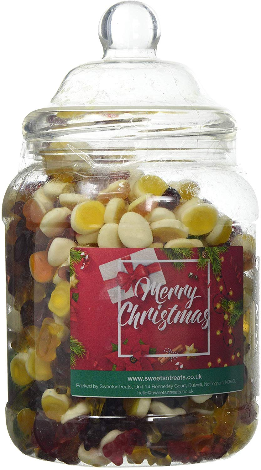 Mr Tubbys Jelly Mix - Merry Christmas Red Label - Large Jar 1500g