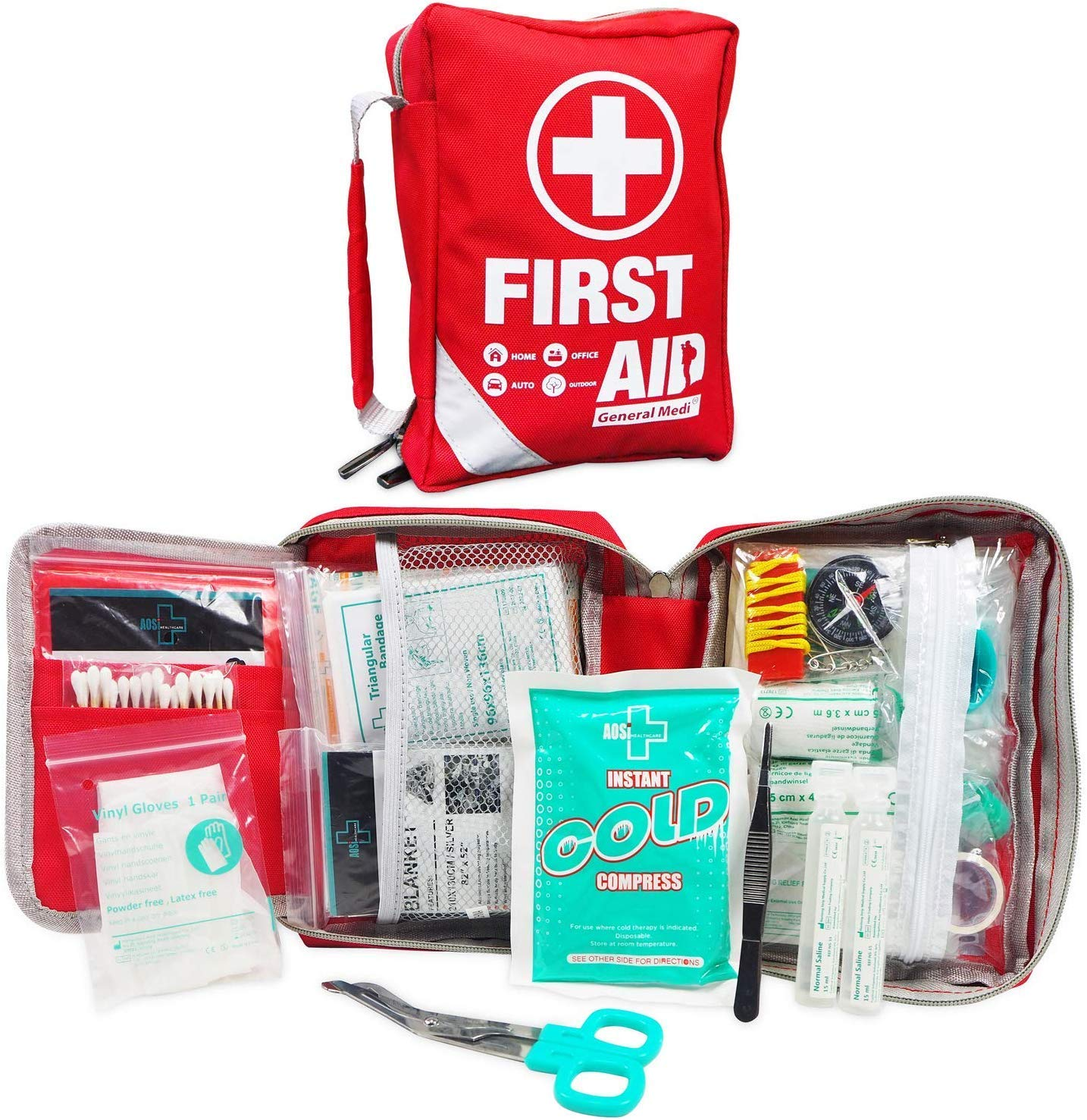 First Aid Kit - Small Compact First Aid Kit Bag