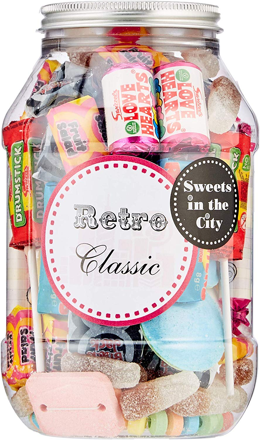 Sweets in the City Retro Classic Jar