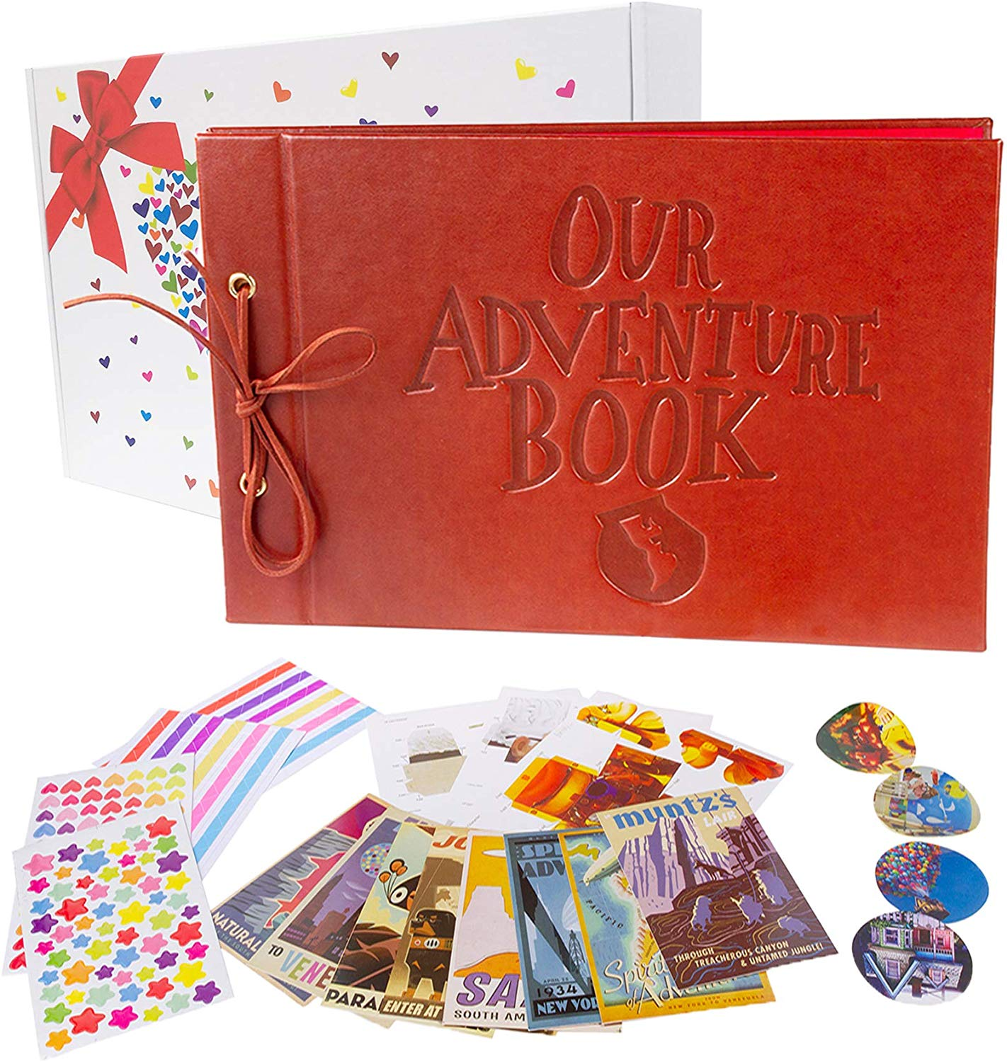 Pulaisen Our Adventure Book with Colored Gift Box